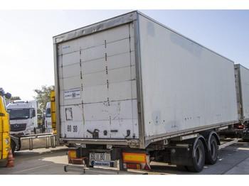 Trouillet CAISSE MOBILE - TANDEM - remorcă furgon