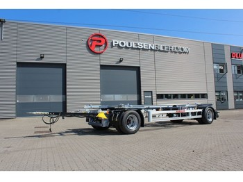 Hangler 2-axle 20.000kg - remorcă transport containere/ swap body