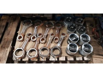 Klipovi/ prstenovi/ izolatori SCANIA DC16 Mahle 127L39 / Rod DC16 Mahle 127L39 R081 piston