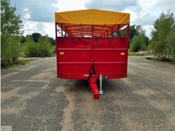 Dinapolis Viehwagen RV 510 5t 5.1m / animal trailer - rimorkio bagëtish