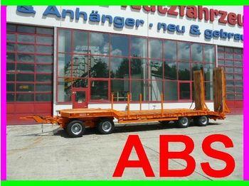 Möslein 4 Achs 40 t Tieflader mit ABS - rimorkio me plan ngarkimi të ulët
