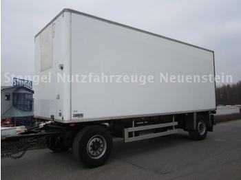 CHEREAU 18to 2-Achs Anhänger Tiefkühlkoffer + Rohrbahnen - rimorkio me vagonetë të mbyllur