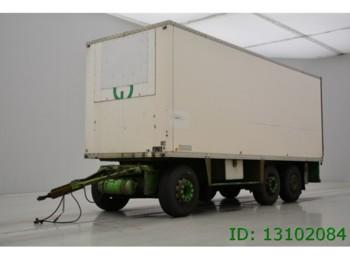 Chereau 3 ASSER - rimorkio me vagonetë të mbyllur