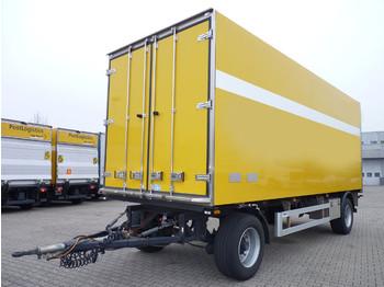 Geser Koffer BPW-Eco Plus Scheibenbr. LBW Kamera - rimorkio me vagonetë të mbyllur