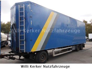 Knapen 3 Achs Schubboden 73 m3  - rimorkio me vagonetë të mbyllur