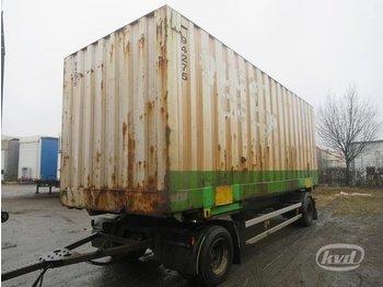 Kel-Berg G 2-axlar Växelflaksläp (container) - transportjer kontejnerësh/ rimorkio me karroceri të çmontueshme