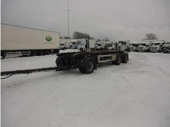 Parator LX 10-20 Lastväxlarvagn med tipp - transportjer kontejnerësh/ rimorkio me karroceri të çmontueshme
