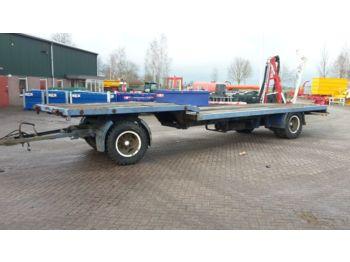 Alçak çerçeveli platform römork GEBRUIKTE transportwagen