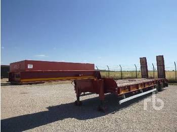 Araba taşıyıcı römork FRUEHAUF D-512 2 axle, 34 tn