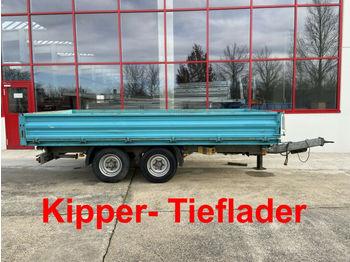 Humbaur  Tandemkipper- Tieflader  - damperli römork