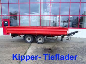 Müller-Mitteltal  Tandemkipper- Tieflader  - damperli römork