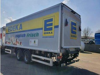 4 x 2-Achs Tandem Anhänger + LBW 2500 KG - kapalı karoser römork