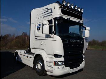 SCANIA R580 V8 EURO6 Topline full air Retarder - شاحنة جرار