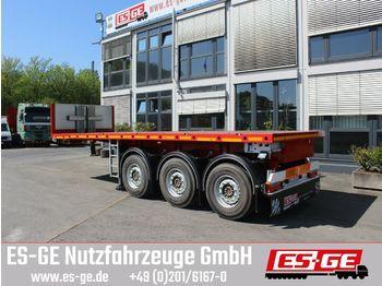 ES-GE 3-Achs-Ballastauflieger  - platform sættevogn