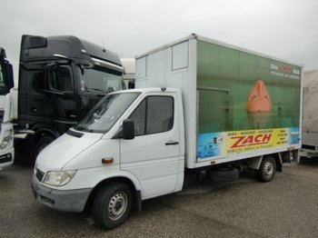 Mercedes-Benz Sprinter 313 CDI Kofferaufbau mit Hebebühne - dostawczy kontener