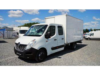 Renault Master 165dci KOFFER 4m/7sitze/klima/36530km!  - dostawczy kontener