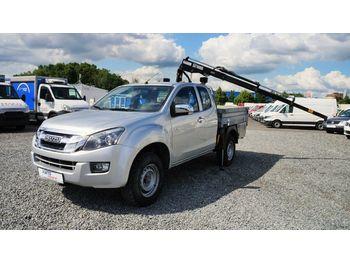 Pick-up Isuzu D-Max 4X4/ pick-up/ kran 840kg/ automatik/AHK 3t