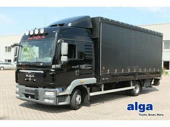 Samochód dostawczy plandeka MAN 8.240 TGL BL 4x2, Gardine, LBW, AHK, Euro 4
