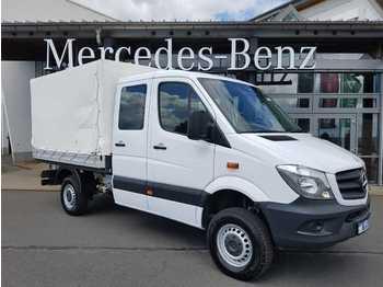 Mercedes-Benz Sprinter 316 DoKa CDI 4x4 Pritsche Plane AHK Kli  - samochód dostawczy plandeka
