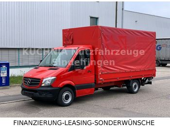 Samochód dostawczy plandeka Mercedes-Benz Sprinter 316 Pritsche 4,38m Plane LBW Klima E5