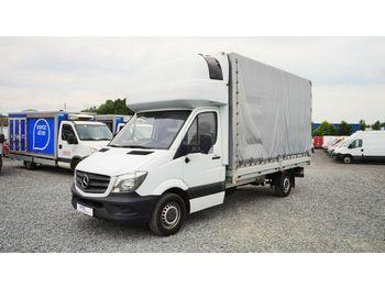 Samochód dostawczy plandeka Mercedes-Benz Sprinter 316 pritsche 8 PAL/klima/1.besitzer/ČR