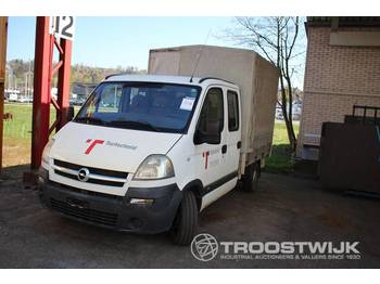 Opel Movano 25 TDHB35/35 - samochód dostawczy plandeka