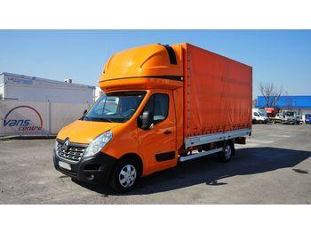 Samochód dostawczy plandeka Renault MASTER 170DCI pritsche 8 PAL/schlafe/luft/ČR