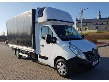 Renault Master - samochód dostawczy plandeka
