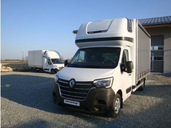 Samochód dostawczy plandeka Renault Master 165 8PAL Schlafkabine-Webasto