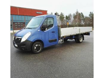 Samochód dostawczy skrzyniowy Opel Movano 2.3 DCTi 4.4m alumiinilava p-auto