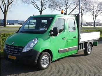 Samochód dostawczy skrzyniowy Renault Master 2.3 dci 125 dubbel cabin