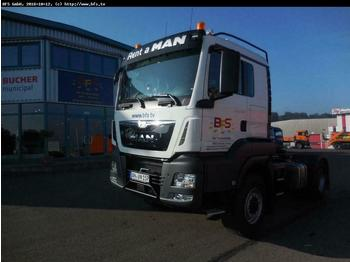 Sattelzugmaschine MAN TGS 18.480 4x4H BLS HydroDrive, Kipphydraulik