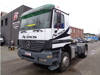 Sattelzugmaschine Mercedes-Benz Actros 2040 AS 4x4 Top 1a