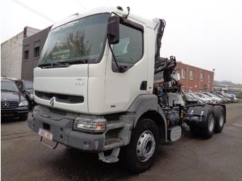 Sattelzugmaschine Renault Kerax 400 grue 3x extensible 6x4
