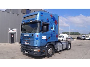 Scania 114 - 380 Topline (MANUAL GEARBOX) - Sattelzugmaschine