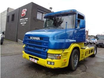 Sattelzugmaschine Scania 124 420 Torpedo/ retarder