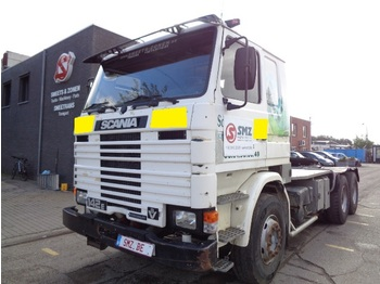 Sattelzugmaschine Scania 142 M 420 INTERCOOLER V8