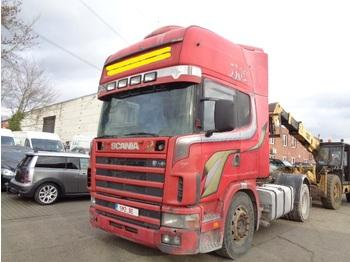 Sattelzugmaschine Scania 144 530 moteur broken.casse