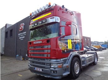 Sattelzugmaschine Scania 164 L 580 topline 'johnny Hallyday airbrush