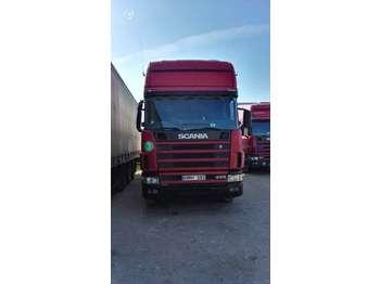 Scania R124, single sleeper  - Sattelzugmaschine