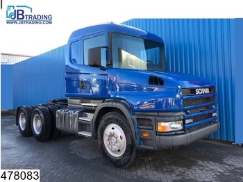 Scania 124 420 6x4, 5 UNITS, Torpedo, Steel suspension, 13 Tons axles, Hub reduction, Manual - شاحنة جرار