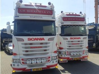 Scania 2 x R450 Streamline - مقطورة السحب