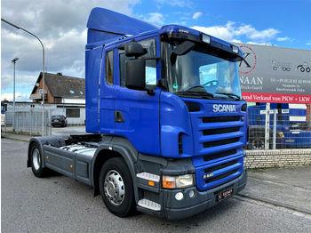شاحنة جرار Scania R440 LA4X2MNA Flachdach orig Km