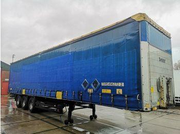 نصف مقطورة بستائر جانبية Schmitz Cargobull S01 | Curtains | 3 x SAF Axle