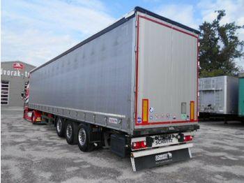 نصف مقطورة بستائر جانبية Schmitz Cargobull S01 Gardienen, LUFT, LIFT, SAF, 12/2015: صورة 1