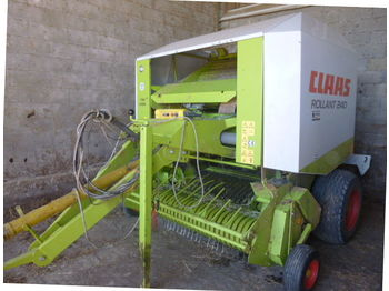 Claas ROLLAND 240 - пресс-подборщик рулонный