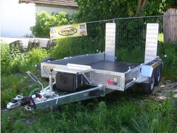 Nugent P3118H Baumaschinentransporter  - сельскохозяйственный прицеп-платформа