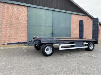Platte wagen, oprijwagen, transportkar platte wagen, transportkar - сельскохозяйственный прицеп-платформа