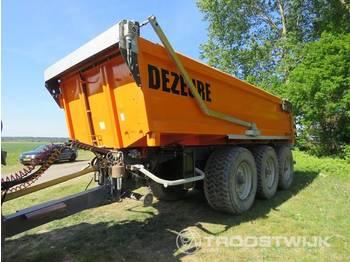 Dezeure K33 - сельскохозяйственный прицеп-самосвал