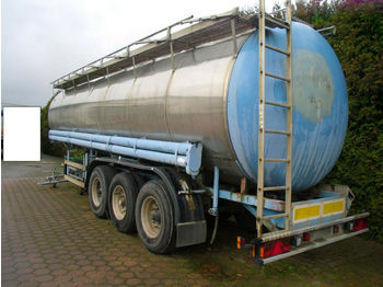 Hendricks VA Tanksattel + Alufelgen + Blatt gefedert 29 lt  - semi-remorque citerne